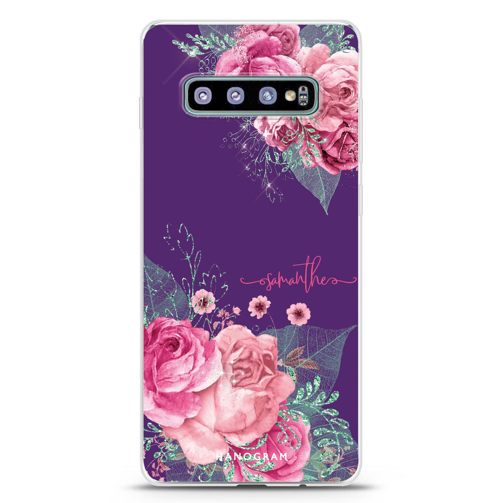 WildRose Samsung S10 Plus Soft Clear Case