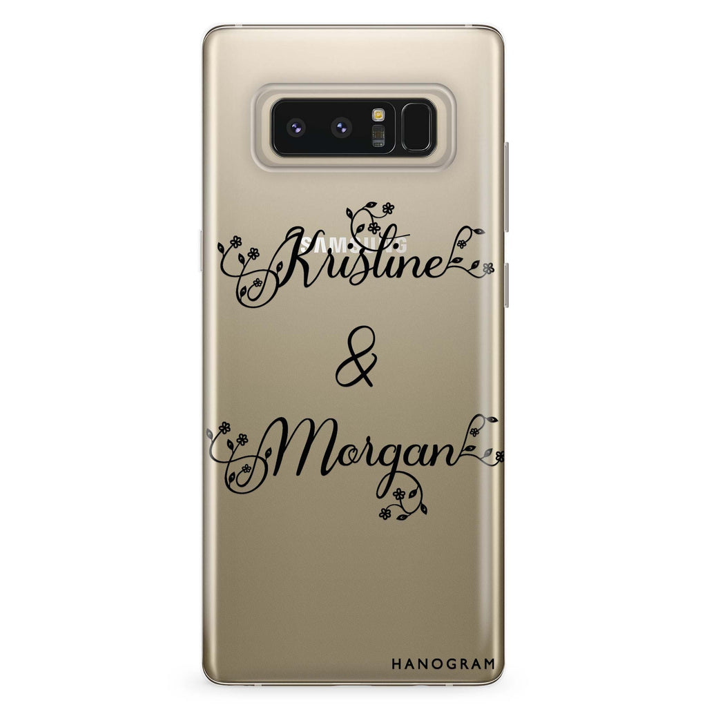 Natural & Us Samsung Note 8 Soft Clear Case
