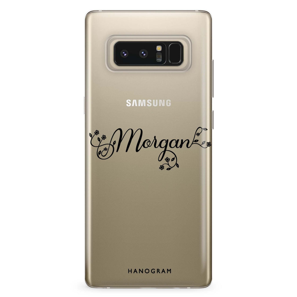 Natural & Me Samsung Note 8 Soft Clear Case