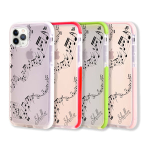 Music Frosted Bumper Case