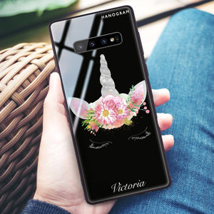 Unicorn's Brow Samsung S10 Plus Glass Case