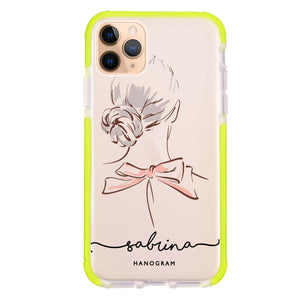 Artistic Girls II iPhone 11 Pro Max Frosted Bumper Case