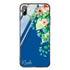 Secret Flower Princess Blue Glass Case