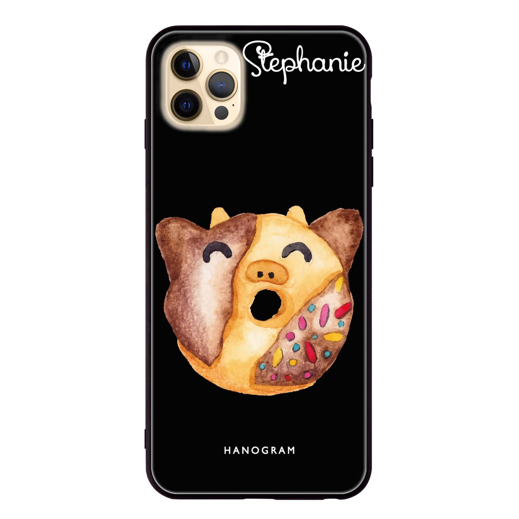 Sweet donut calf iPhone 12 Pro Glass Case