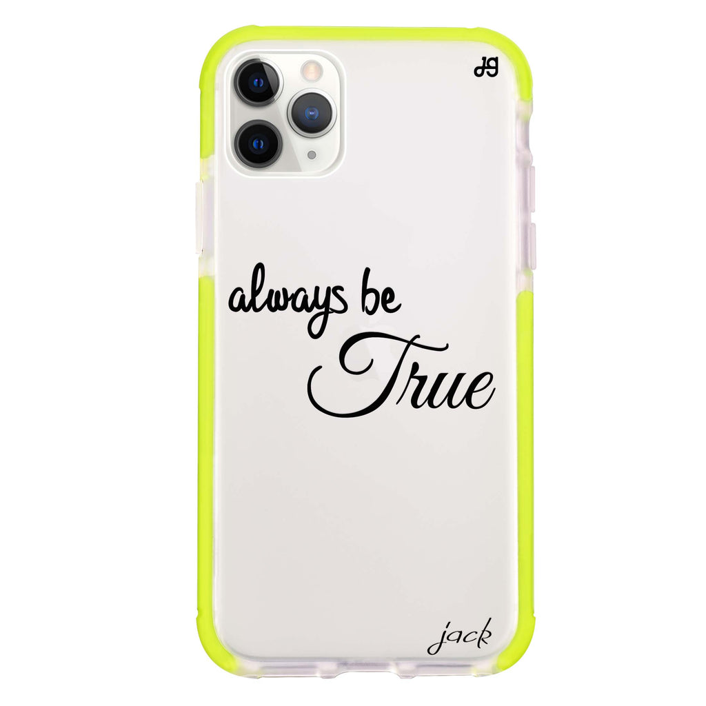Always be true love with passion I Shockproof Bumper Case
