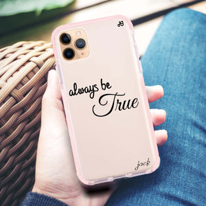Always be true love with passion I Frosted Bumper Case