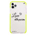 Always be true love with passion II Frosted Bumper Case