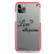 Always be true love with passion II Shockproof Bumper Case
