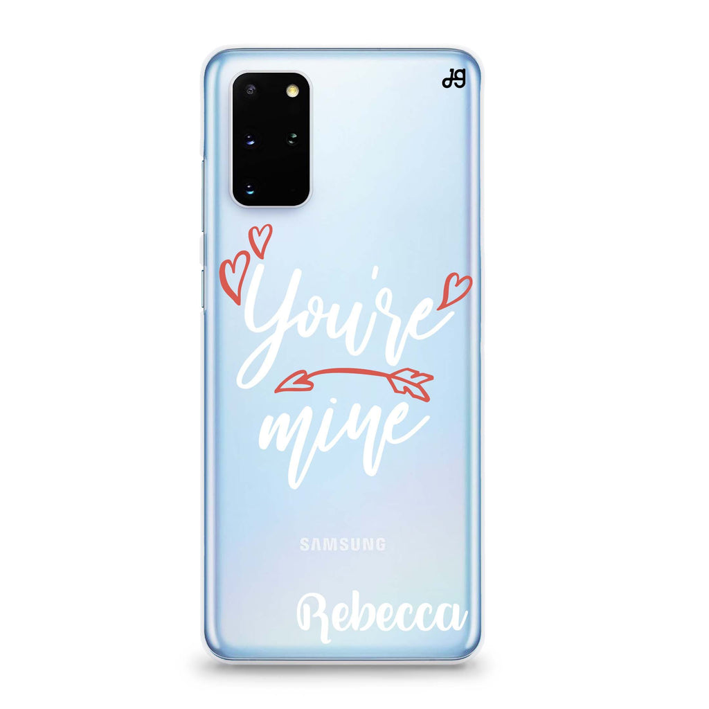 You are mine II Samsung S20 Soft Clear Case