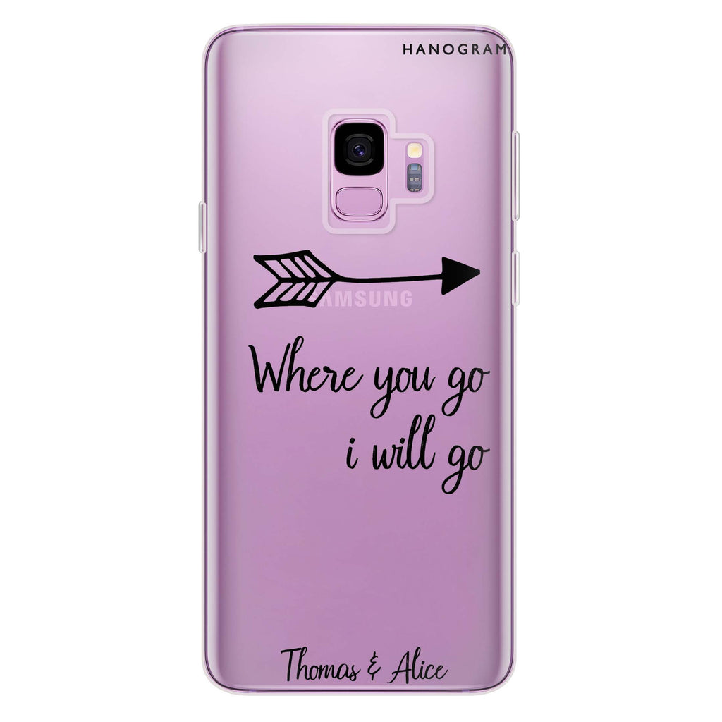 Always love together Samsung S9 Soft Clear Case