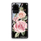 Pink Watercolor Floral Samsung Glass Case