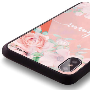 Forever Love Rose Living Coral Glass Case