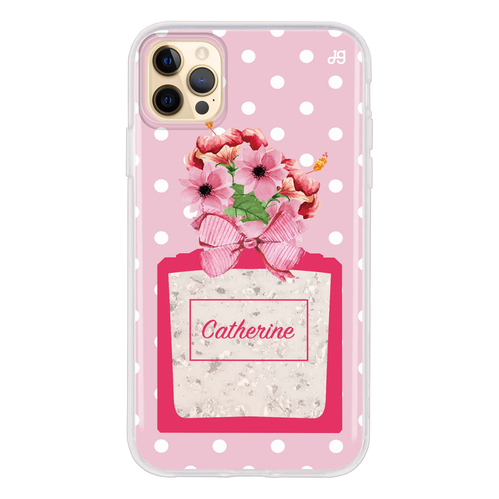 Floral Perfume I Glitter Case