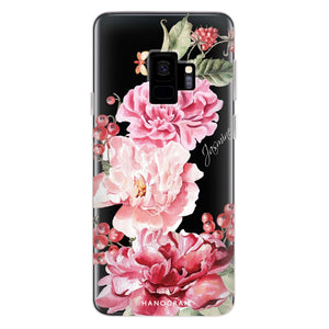 Pretty Watercolor Flowers Samsung S9 Soft Case