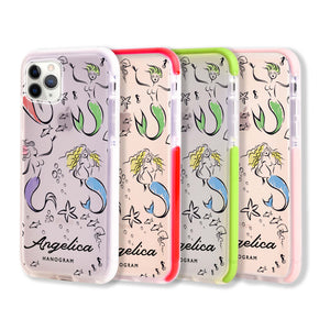 MerryMermaids Frosted Bumper Case