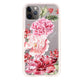 Pretty Watercolor Flowers Frosted Bumper Case