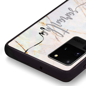 Marble Edition III Samsung Glass Case
