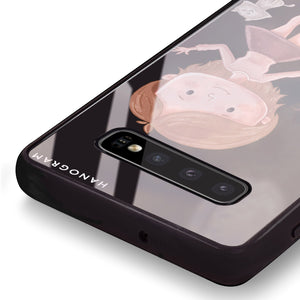 The best thing about you boy Samsung S10 Plus Glass Case