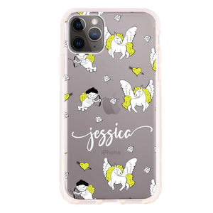 Angel & Unicorn Custom Shockproof Bumper Case
