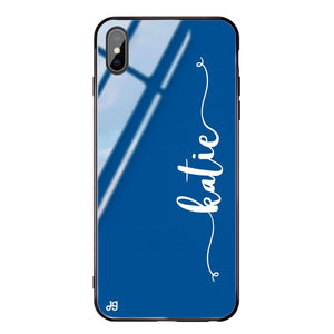 Glamorous Princess Blue Glass Case