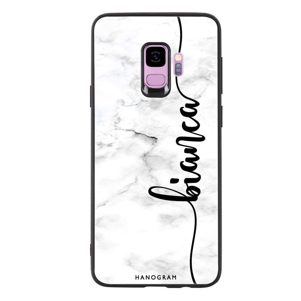 Marble Edition I Samsung S9 Glass Case