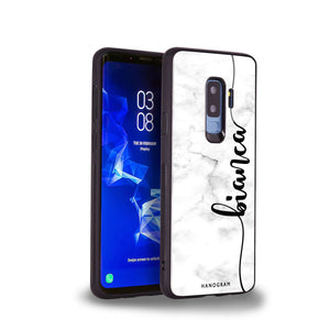 Marble Edition I Samsung S9 Plus Glass Case
