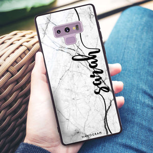 Marble Edition II Samsung Note 9 Glass Case