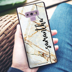 Marble Edition III Samsung Note 9 Glass Case