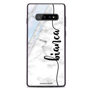Marble Edition I Samsung S10 Plus Glass Case