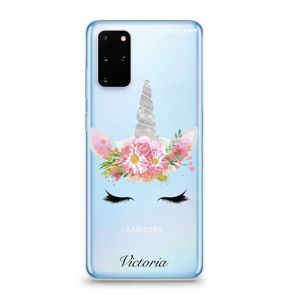 Unicorn's Brow Samsung S20 Plus Soft Clear Case