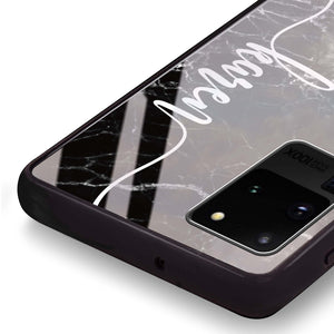 Marble Edition VII Samsung Glass Case