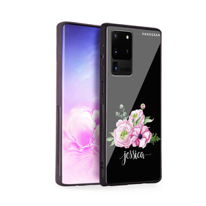 Be Romantic Samsung Glass Case
