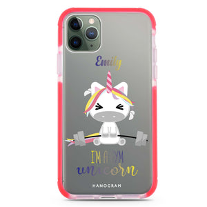 Gymnast Unicorn Frosted Bumper Case