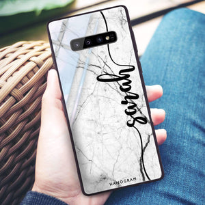Marble Edition II Samsung S10 Plus Glass Case