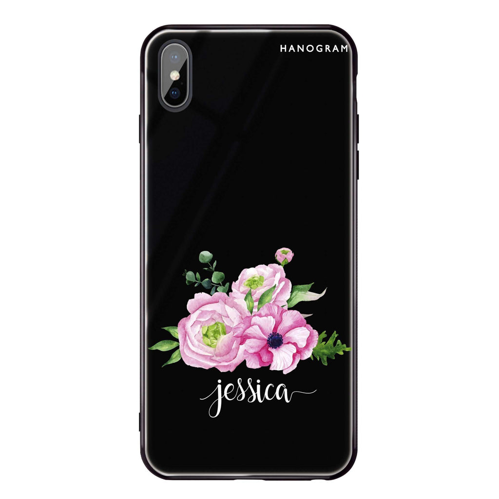 Be Romantic iPhone XS Max Glass Case