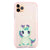 Pretty Eyes Unicorn Frosted Bumper Case