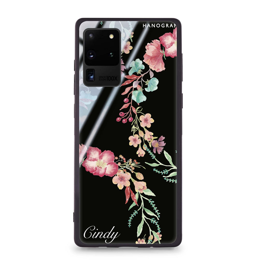 Spring Flowers Samsung Glass Case