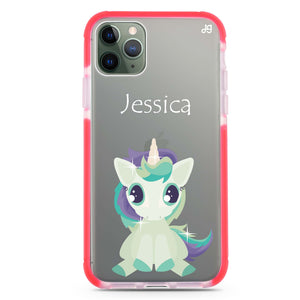 Pretty Eyes Unicorn Shockproof Bumper Case