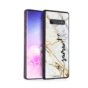 Marble Edition III Samsung S10 Plus Glass Case