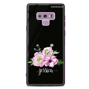 Be Romantic Samsung Note 9 Glass Case
