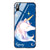 Wonderful Floral Princess Blue Glass Case