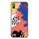 Trendy Abstract I Living Coral Glass Case