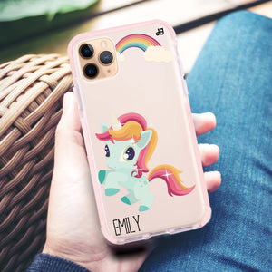 Lovely Unicorn II Frosted Bumper Case