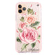 Pink Watercolor Floral Frosted Bumper Case