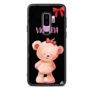 Bear Lovely Samsung S9 Plus Glass Case