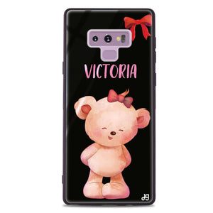 Bear Lovely Samsung Note 9 Glass Case