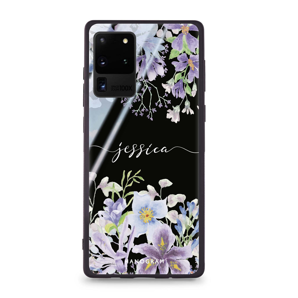 Flowers Bloom Samsung Glass Case