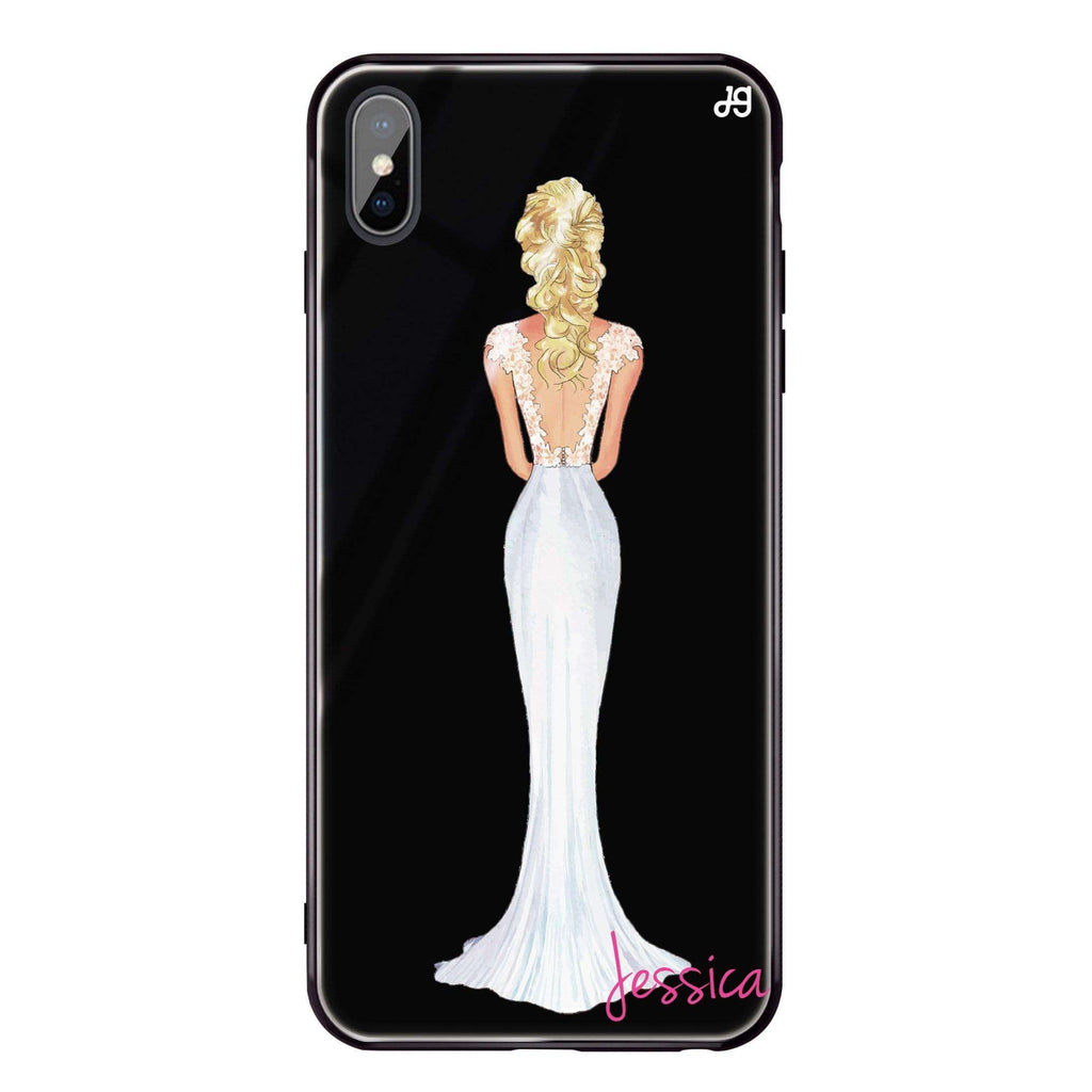 Bride Moment I iPhone XS Max Glass Case