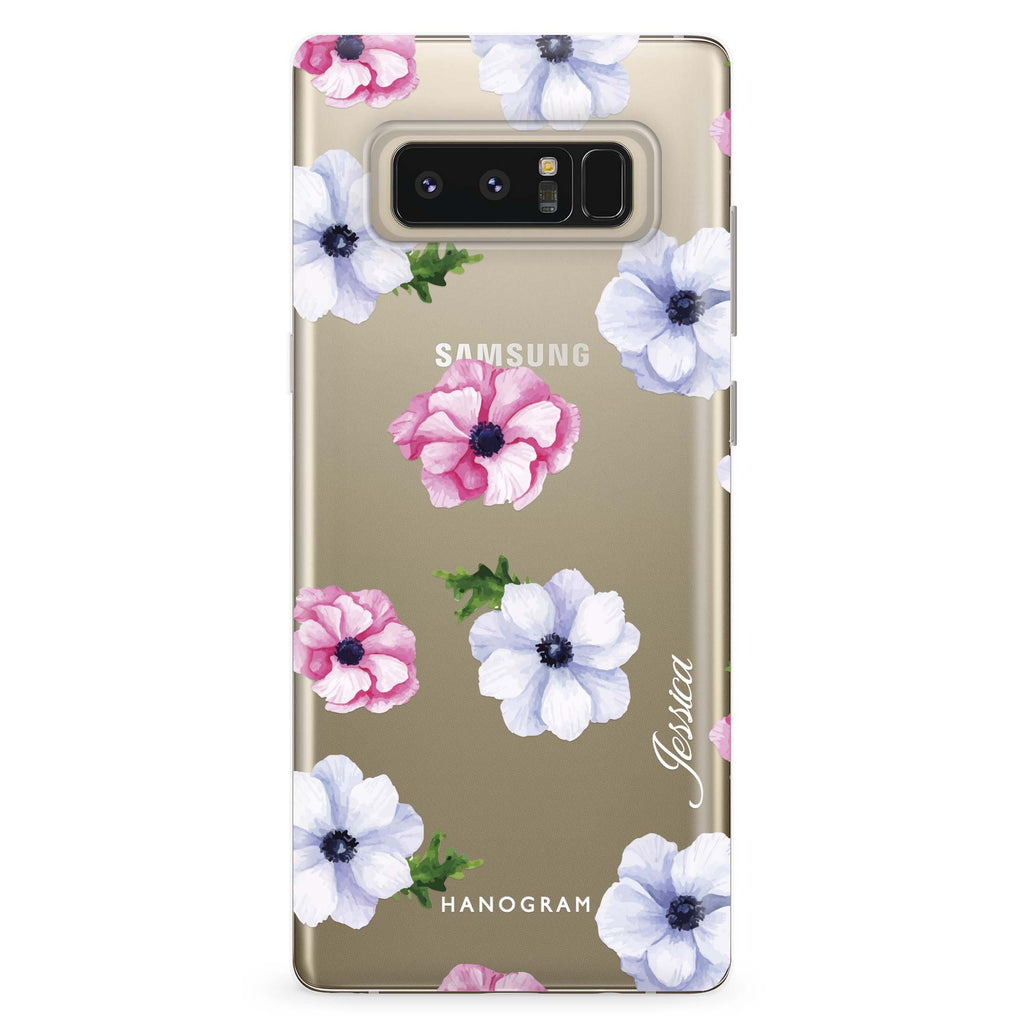 Ideal floral Samsung Note 8 Soft Clear Case