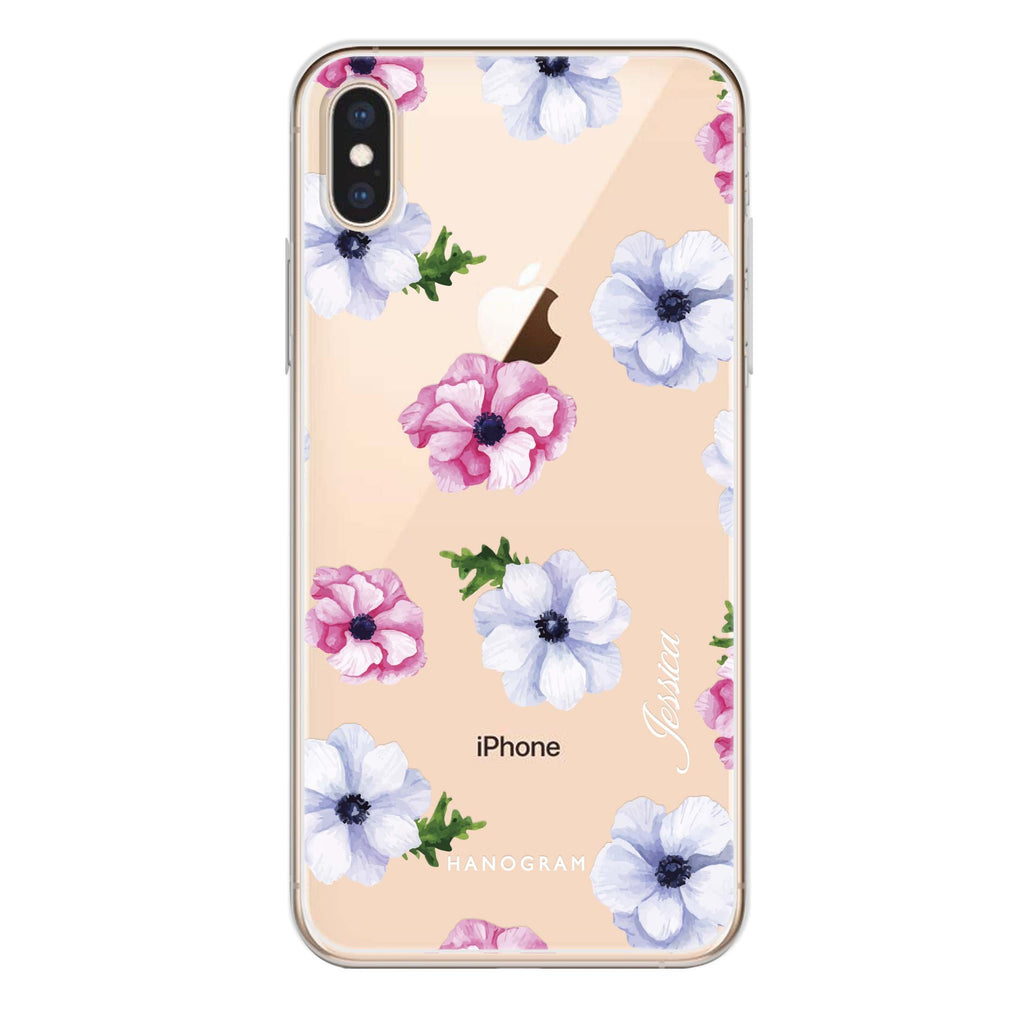 Ideal floral iPhone XS Soft Clear Case